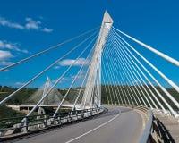 Terenez Bridge Royalty Free Stock Photo
