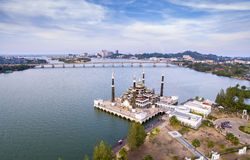 Terengganu crystal mosque Royalty Free Stock Photography