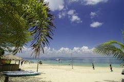 Terengganu najwięcej popularnej wyspy, kapas wyspa otaczająca jasną wodą morską i niebieskiego nieba tło, zdjęcie royalty free