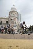 Terengganu Pro Asia Team Cycling Stock Image