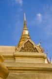 terenu Bangkok złoty uroczysty pagodowy pałac Zdjęcie Stock