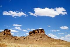 terenu bisti pustkowie Zdjęcie Royalty Free