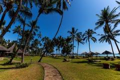 Terenu hotel, hotel z wielkim terytorium, Hotelowy Mambasa terytorium, hotel z zielonym terytorium, ph Fotografia Royalty Free