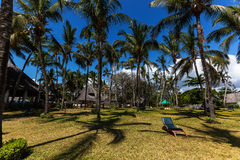 Terenu hotel, hotel z wielkim terytorium, Hotelowy Mambasa terytorium, hotel z zielonym terytorium, ph Obrazy Royalty Free