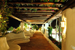 terenu hotel iluminujący luksusowy odtwarzanie Obrazy Royalty Free