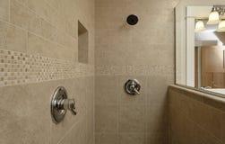 terenu kontrola podwójna prysznic Obrazy Royalty Free