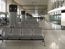 terenu lotniskowy czekanie Obrazy Stock