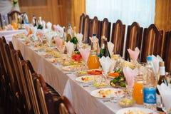 terenu ślub galanteryjny recepcyjny Fotografia Royalty Free