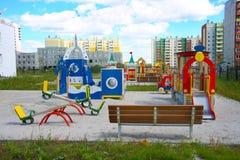 terenu miasta dzieciniec nowy Obrazy Stock