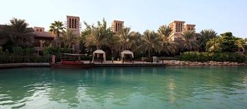 terenu powikłany jumeirah madinat Zdjęcia Stock