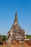 terenu sławny phra sanphet si świątyni wat Zdjęcie Stock