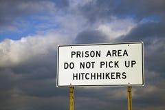 terenu wykładowcy autostopowiczów wyboru więzienie t więzienie Fotografia Royalty Free