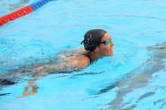 Teresa Alshammar. MILAN, ITALY - SEPT 21: Teresa Alshammar swimming champion during the performance september 21, 2008 in Milan, ITALY Stock Photography