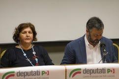 Teresa  bellanova salvatore capone Stock Images