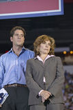 Teresa Heinz Kerry and son Stock Image