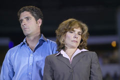 Teresa Heinz Kerry and son Stock Images