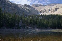 Teresa Lake and Wheeler Peak Royalty Free Stock Images