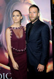 Teresa Palmer och Mark Webber Royaltyfri Bild