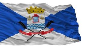 Teresina City Flag, Brasil, Isolated On White Background vector illustration
