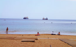 Teresitas Beach, Canarian Islands Stock Photos