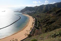 Teresitas Beach Of Tenerife Royalty Free Stock Photos