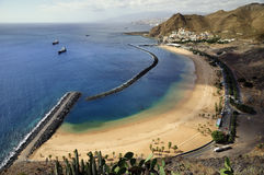 Teresitas beach of Tenerife. Canary Islands teresitas beach in Tenerife Stock Images