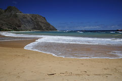 Teresitas beach in Tenerife. Teresitas beach on a summer day, Tenerife (Canary Islands Stock Photo