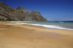 Teresitas beach in Tenerife. Teresitas beach on a summer day, Tenerife (Canary Islands Royalty Free Stock Image