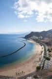 Teresitas beach of Tenerife Stock Photos