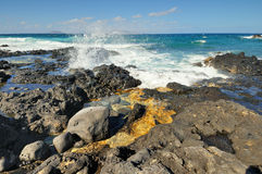 Teresitas Beach in Tenerife Canary Islands, Spain Royalty Free Stock Images