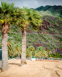 Teresitas beach in Tenerife Stock Photography