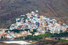 Teresitas plaża blisko Santa Cruz de Tenerife, Hiszpania Obrazy Stock