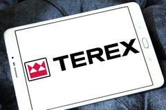 Terex Korporation logo royaltyfri bild
