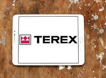 Terex Korporation logo arkivfoton