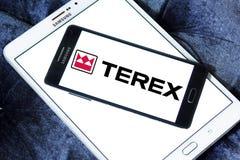 Terex Korporation logo arkivbilder