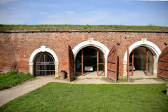 Terezin ceremonial rooms Stock Image