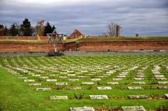 Terezin commémoratif Images stock