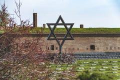 Terezin Konzentrationslager lizenzfreies stockfoto