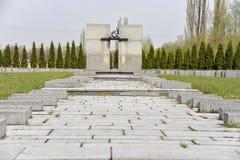 Terezin memorial cemetery Stock Photos