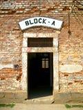 Terezin Small Fotress. Block A cells in gestapo prison Royalty Free Stock Photos