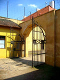 Terezin Small Fotress. Gate to the appeal ground Stock Photos