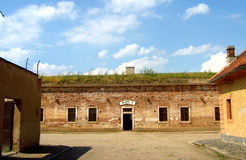 Terezin Small Fotress. Ground with the cells in Gestapo prison Royalty Free Stock Photography