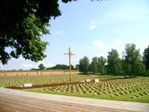 Terezin Small Fotress. Jewish Cemetery before Terezin Small fortress Royalty Free Stock Photos