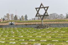 Terezin war cemetery Royalty Free Stock Images