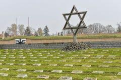 Terezin war cemetery Royalty Free Stock Images
