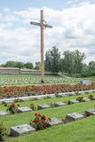 Terezin war cemetery. National Memorial Cemetery in Terezin. Memorial to the Holocaust. Small fortress, Terezin, Czech Republic. In nowadays this is part of Royalty Free Stock Photos
