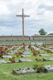 Terezin war cemetery Royalty Free Stock Photos