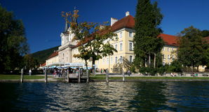 Tegernsee Abbey and Palace Royalty Free Stock Photos