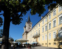 Tegernsee Abbey and Palace Royalty Free Stock Photo