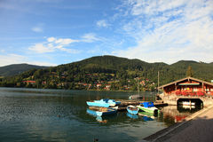 Tergernsee Rottach Egern Photo stock